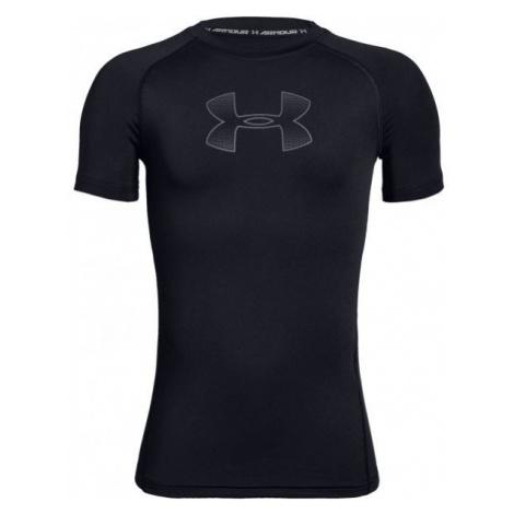Under Armour HEATGEAR SHORT SLEEVE black - Boys' T-shirt