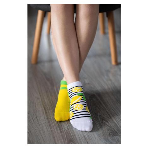 Barefoot Socks - Low-Cut - Lemons 43-46