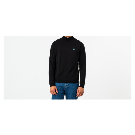 WOOD WOOD Luc Turtleneck Black