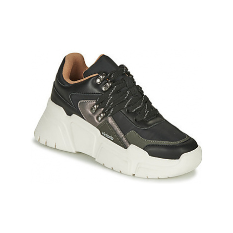 Victoria TOTEM NYLON women's Shoes (Trainers) in Black