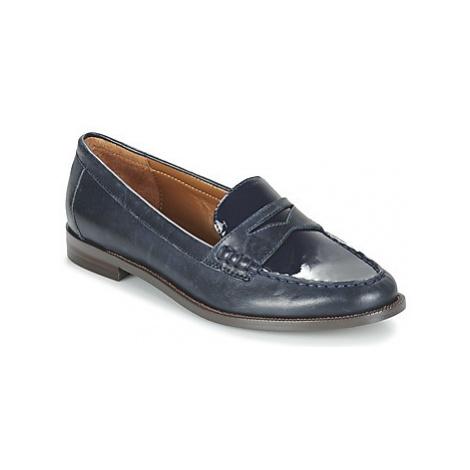Lauren Ralph Lauren BARRETT SHOE TAILORED women's Loafers / Casual Shoes in Blue
