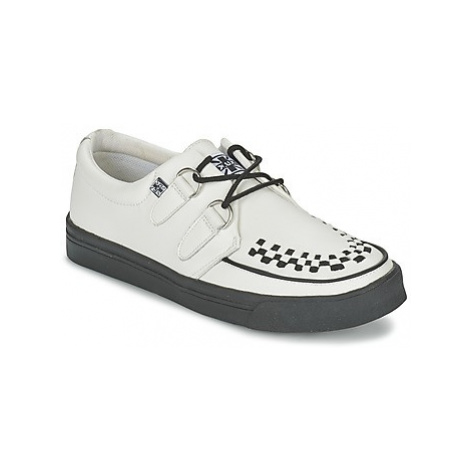TUK CREEPERS SNEAKERS women's Casual Shoes in White T.U.K
