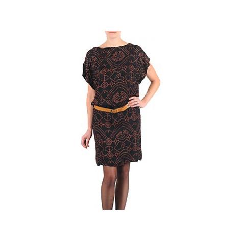 Antik Batik QUINN women's Dress in Black
