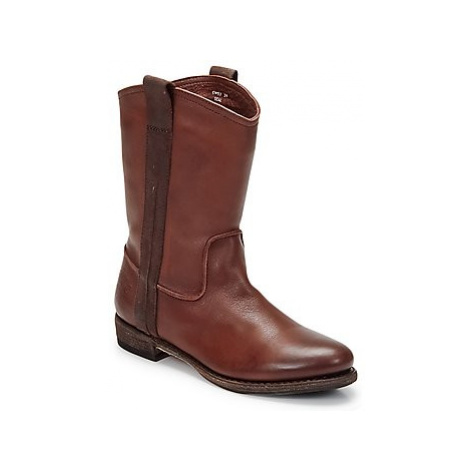 Blackstone BOLOGNA HORSES men's Mid Boots in Brown