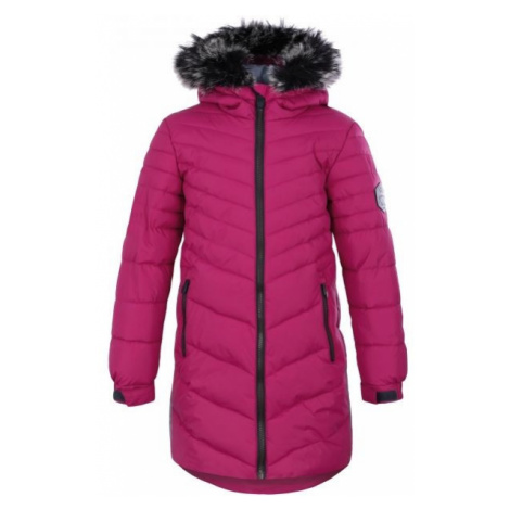 Loap OKSARA pink - Girls' coat