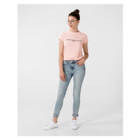 Tommy Hilfiger Essential T-shirt Pink Beige