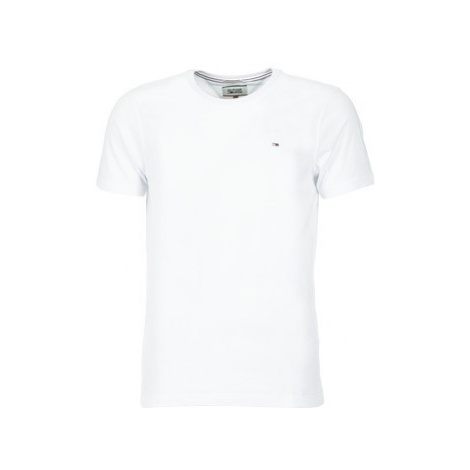Tommy Jeans OFLEKI men's T shirt in White Tommy Hilfiger