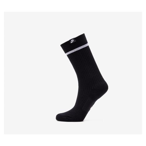 Black women's thermal crew and trainer socks
