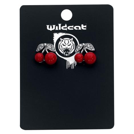 Wildkitten® - Cherry Earstuds - Earpin set - silver-red