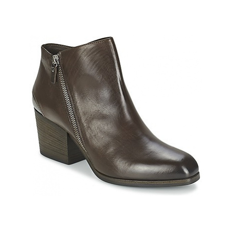 Vic ASSINOU women's Low Boots in Brown