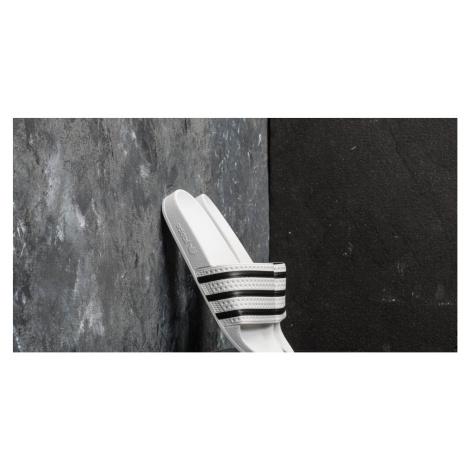 adidas Adilette White/ Core Black/ White