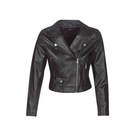 Only ONLENYA women's Leather jacket in Black