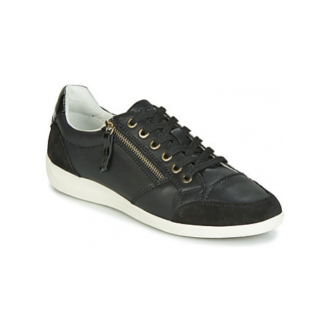 Geox D MYRIA women's Shoes (Trainers) in Black