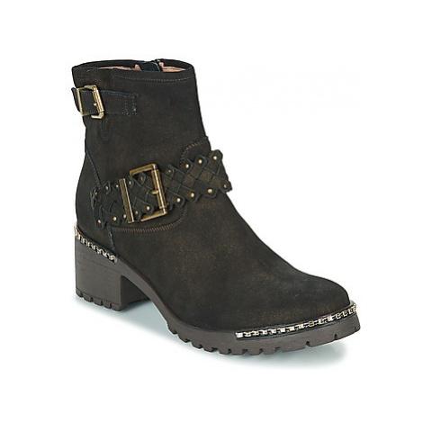 Mam'Zelle DAMI women's Low Ankle Boots in Kaki
