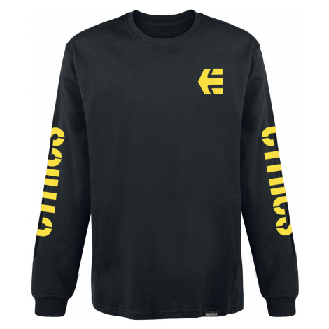 Etnies - Icon - Longsleeve - black-yellow