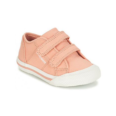 Le Coq Sportif DEAUVILLE-INF SPORT girls's Children's Shoes (Trainers) in Pink
