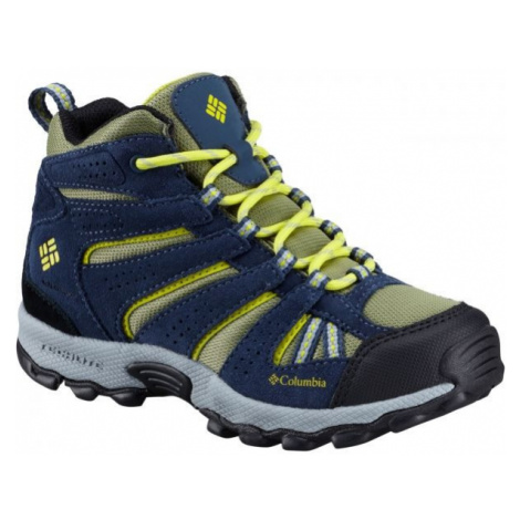 Columbia YOUTH NORTH PLAINS MID WP yellow - Kids' outdoor shoes