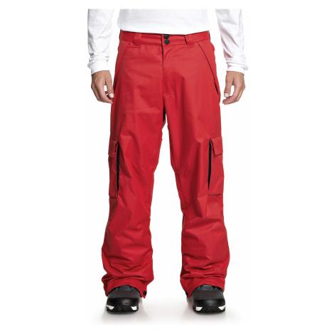 pants DC Banshee - RQR0/Racing Red - men´s