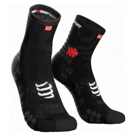 Compressport RACE V3.0 RUN HI black - Running socks