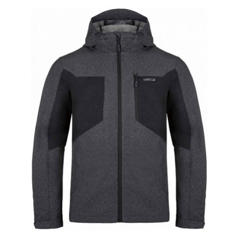 Loap LATRIC gray - Men's softshell jacket