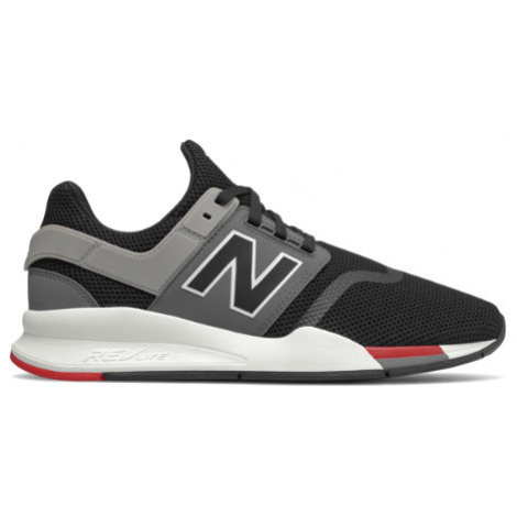 New Balance 247 Shoes - Black/Grey/Red