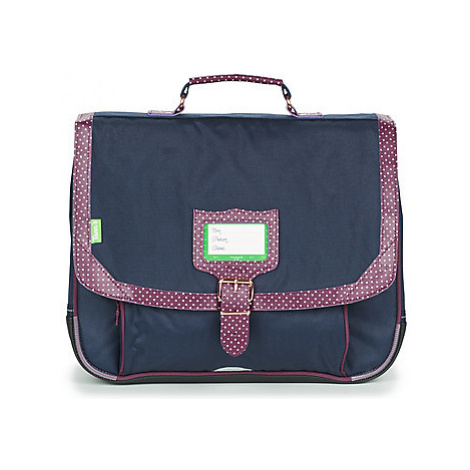 Tann's KYOTO CARTABLE 38 CM girls's Briefcase in Blue