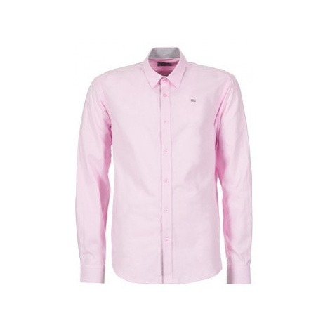 Casual Attitude ERENE men's Long sleeved Shirt in Pink