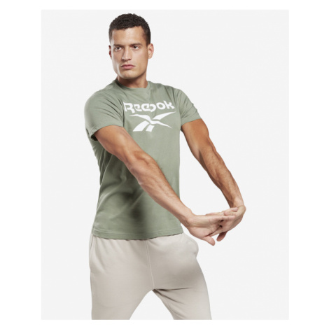 Reebok Graphic Series Stacked T-shirt Green