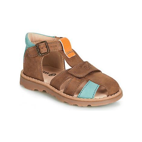 GBB LUNIVO boys's Children's Sandals in Brown