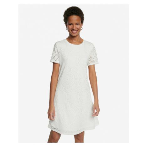 Desigual Nilo Dress White