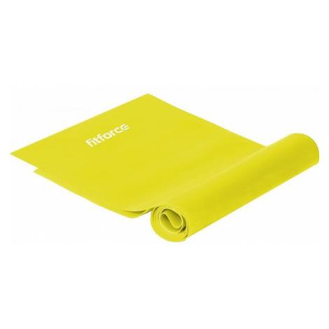 Fitforce EXEBAND250x0,015 yellow - Exercise band