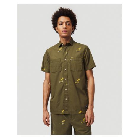 O'Neill Palm All Over Shirt Green