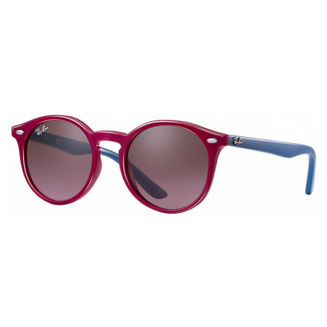 Ray Ban Rj9064s Unisex Sunglasses Lenses: Violet, Frame: Purple-reddish - RJ9064S 701914 44-19
