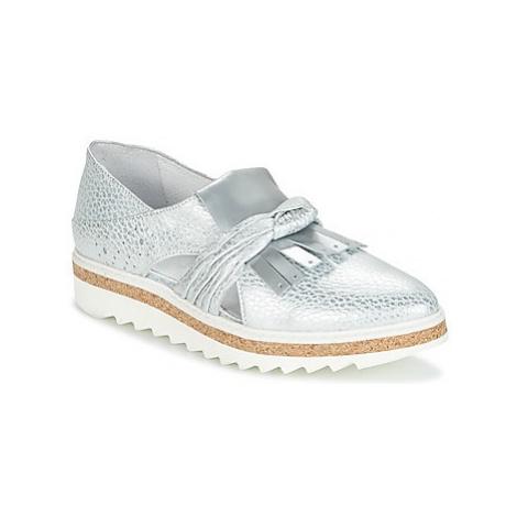 Regard RASTAFA women's Loafers / Casual Shoes in Silver