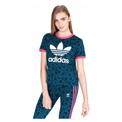 adidas Originals Allover T-shirt Blue