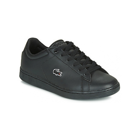 Lacoste CARNABY EVO BL 3 SUJ girls's Children's Shoes (Trainers) in Black