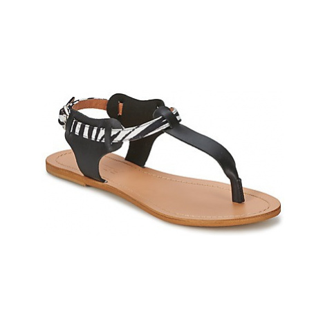 So Size ARWEY women's Sandals in Black