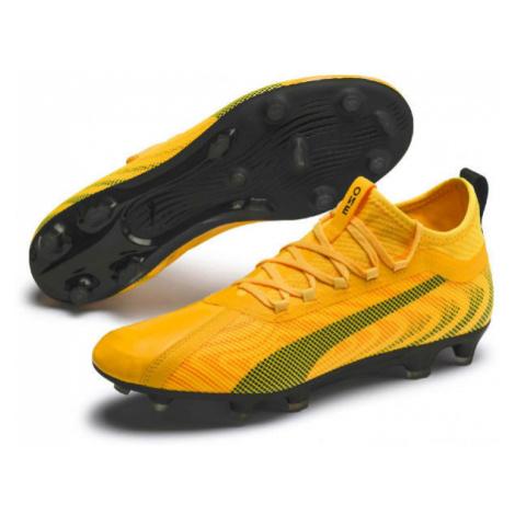 Puma ONE 20.2 FG-AG yellow - Men's football shoes