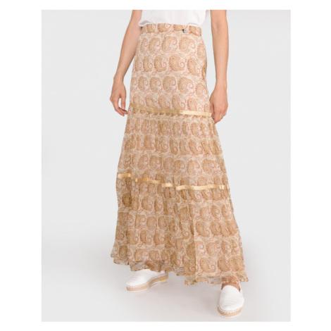 TWINSET Skirt Gold Beige