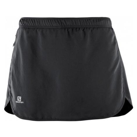 Salomon AGILE SKORT W black - Women's skirt/shorts