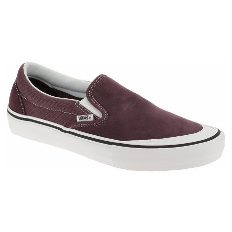 shoes Vans Slip-On Pro - Raisin/White - men´s
