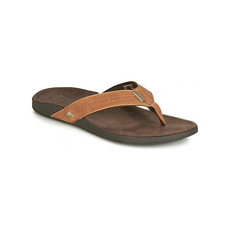 Reef REEF J BAY men's Flip flops / Sandals (Shoes) in Brown