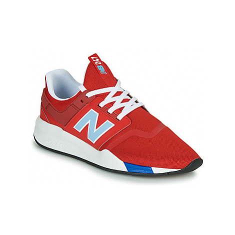 New Balance 247 men's Shoes (Trainers) in Red
