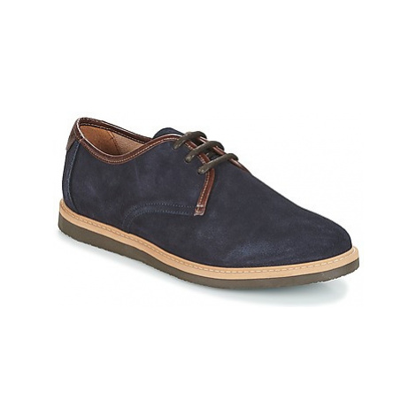Schmoove FLY DERBY men's Casual Shoes in Blue