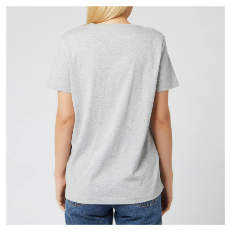 Tommy Hilfiger Women's Heritage Crewneck Graphic T-Shirt - Light Grey Heather