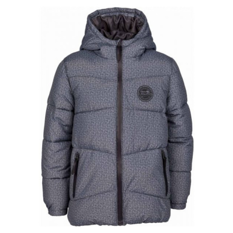 Lewro PAULI dark gray - Boys' quilted jacket