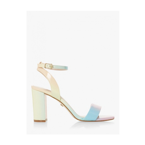 Dune Motion High Block Heel Sandals, Multi