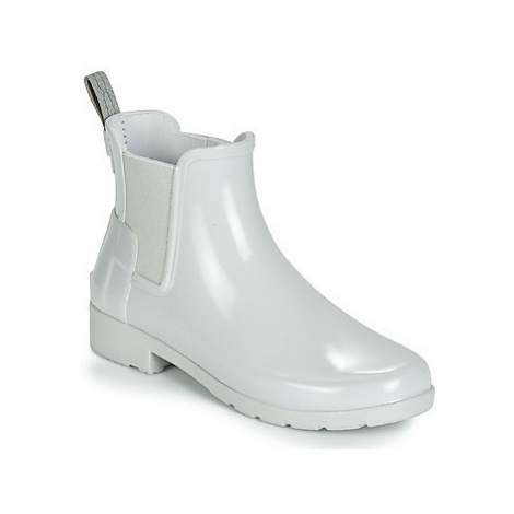 Hunter ORIGINAL KIDS women's Wellington Boots in Grey