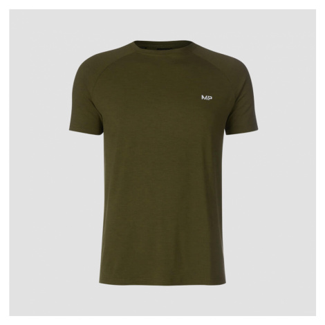 MP Men's Performance T-Shirt - Army Green Marl Myprotein