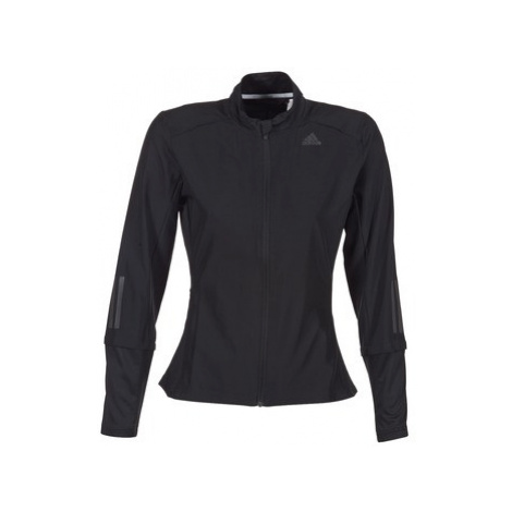 Adidas RS WIND JKT W women's Tracksuit jacket in Black